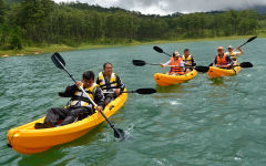 Kayak Tours on the Lake at Dalat Edensee
