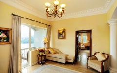 Camellia suite villa living room