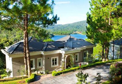 Camellia suite villa outside