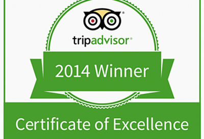 Trip Advisor 2014 Award News