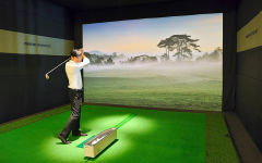 Spa Activity: The Indoor Golf Simulator